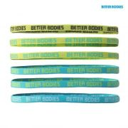 Better Bodies Headband Galvos Juosta (Aqua/dark grey)