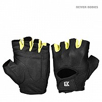 Better Bodies Womens Training Gloves Black/Lime