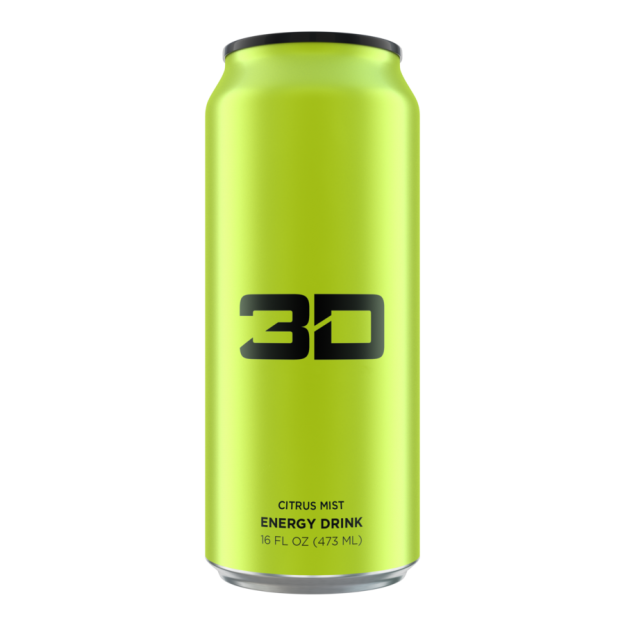 3D Energy Drink 473ml Citrus Mist