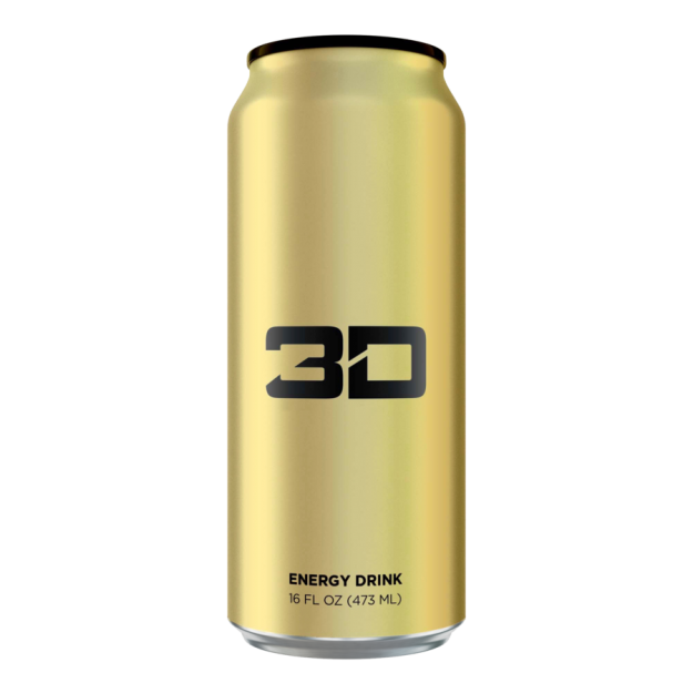 3D Energy Drink 473ml Gold