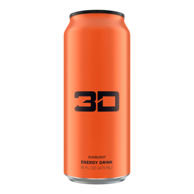 3D Energy Drink 473ml Sunburst