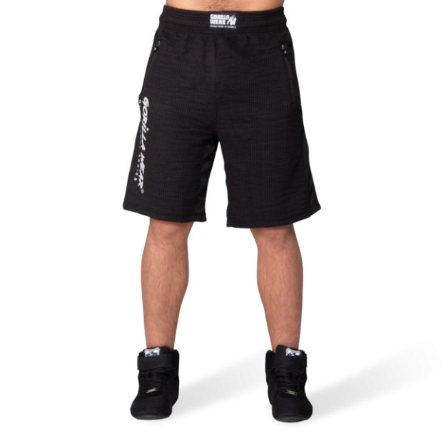 Gorilla Wear Augustine Old School Shorts - Black