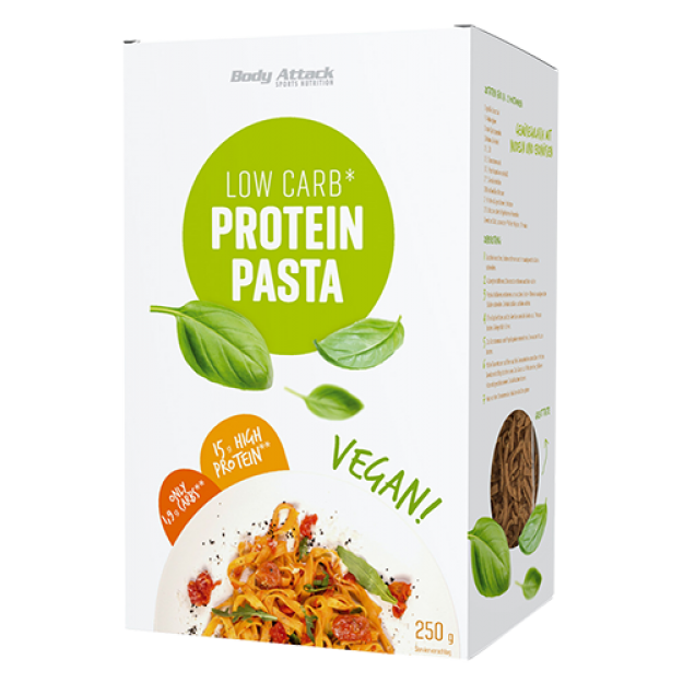 Body Attack Low-Carb Protein Pasta Vegan 250g