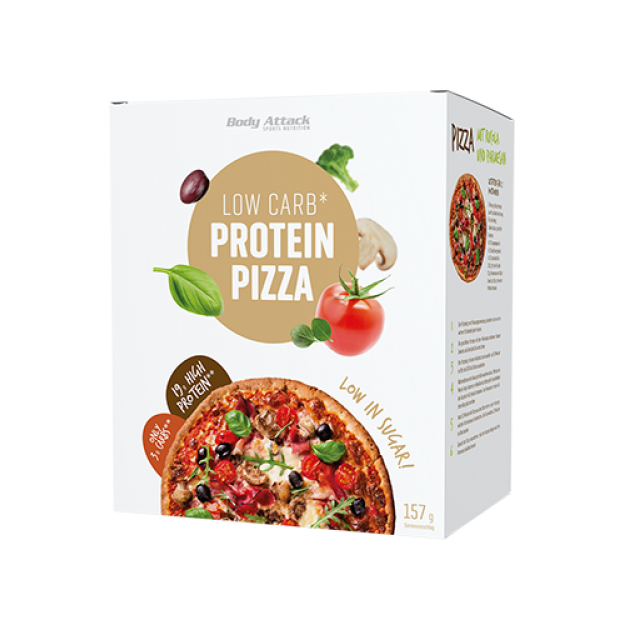 Body Attack Low Carb Pizza 157g