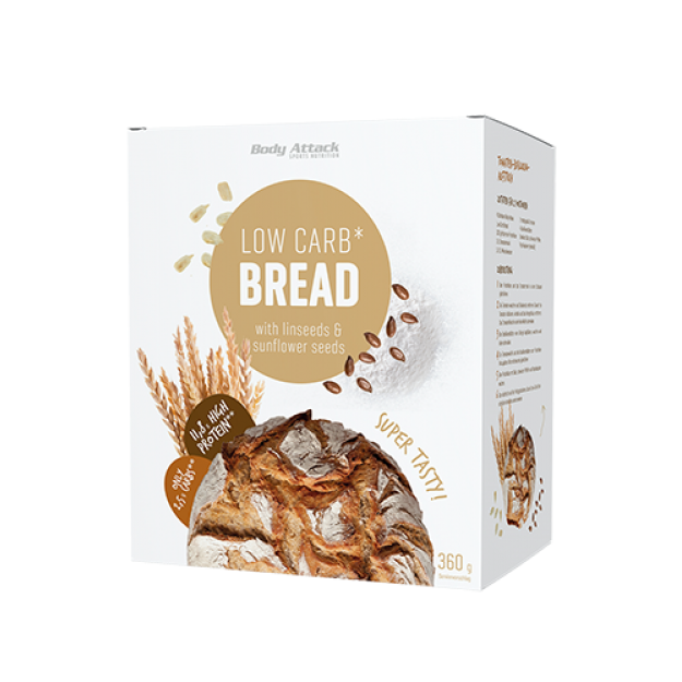 Body Attack Low Carb bread