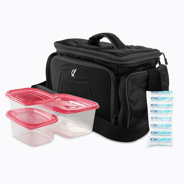 Climaqx Meal Prep Bag Black/White