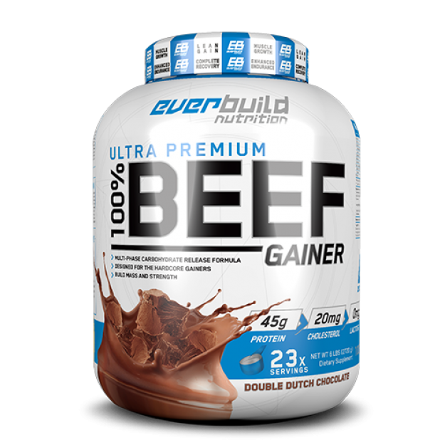 Everbuild Nutrition 100% BEEF GAINER 2720g