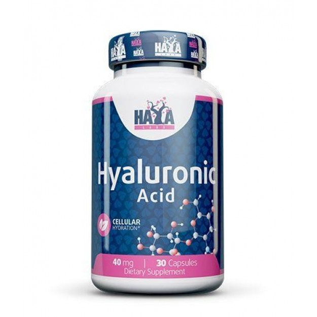 Haya Labs Hyaluronic Acid 30 kaps
