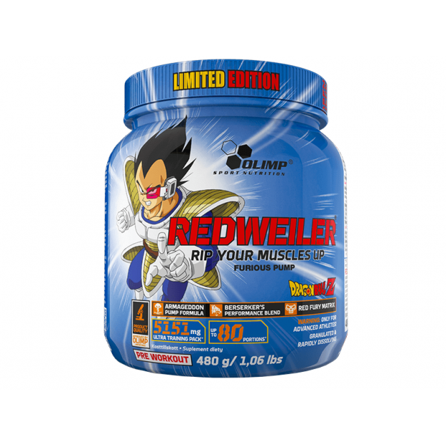 Olimp Redweiler 480g Limited Edition Dragon Ball