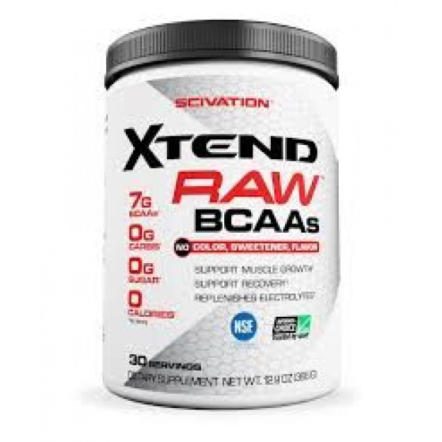 Amino rūgštys Scivation Xtend RAW BCAAs 30 porcijų