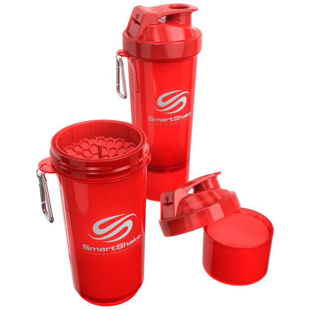 Smart Shake Slim Edition Neon Red