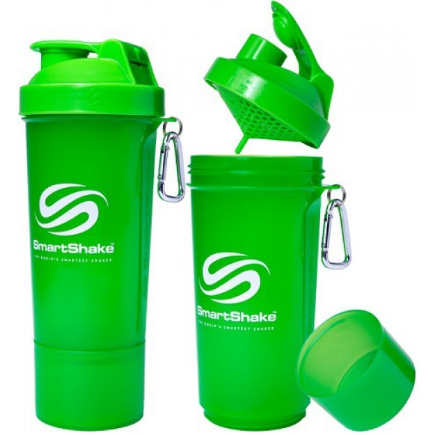 Smart Shake Slim Edition 500 ml. (žalia)