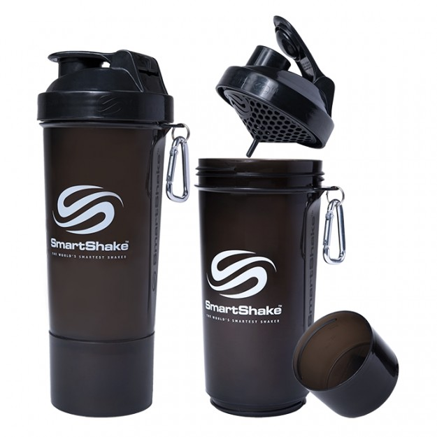 Smart Shake Slim Edition 500 ml. (juoda)