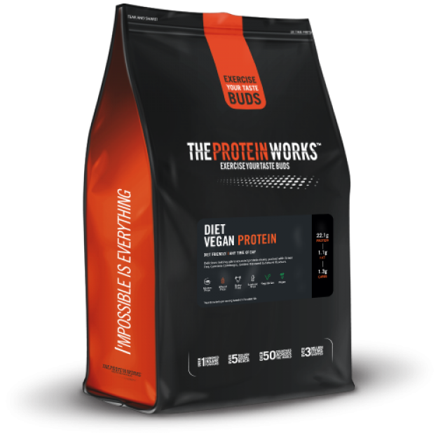 The Protein Works Diet Vegan Protein 1kg