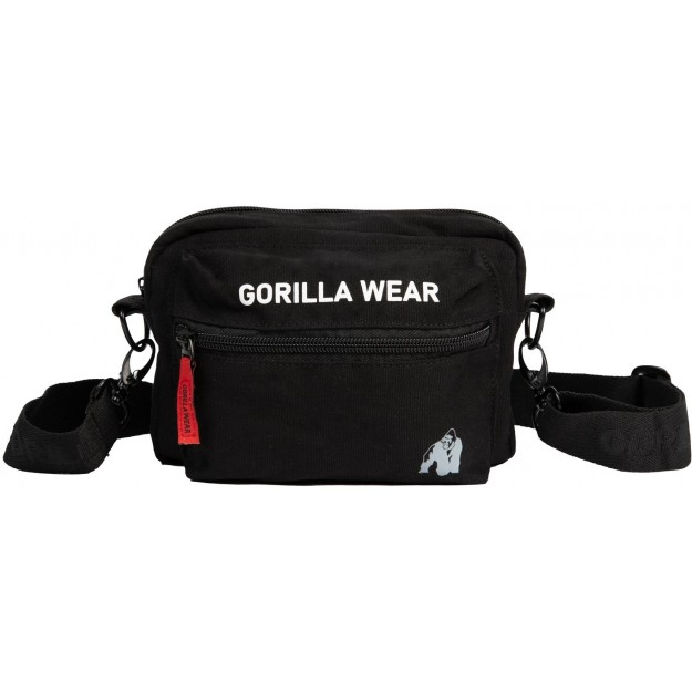 Gorilla Wear Brighton Crossbody Bag - Black