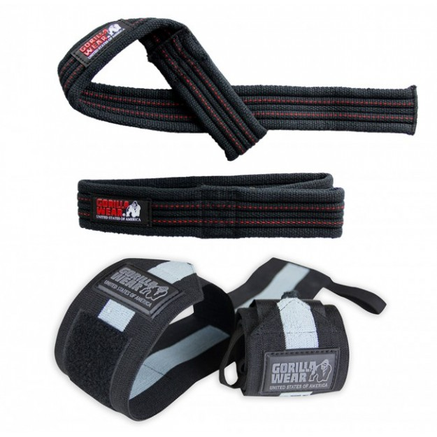 Gorilla Wear Wrist wraps + Lifting Straps