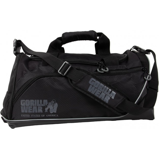 Gorilla Wear Jerome Gym Bag 2.0 - Black/Gray