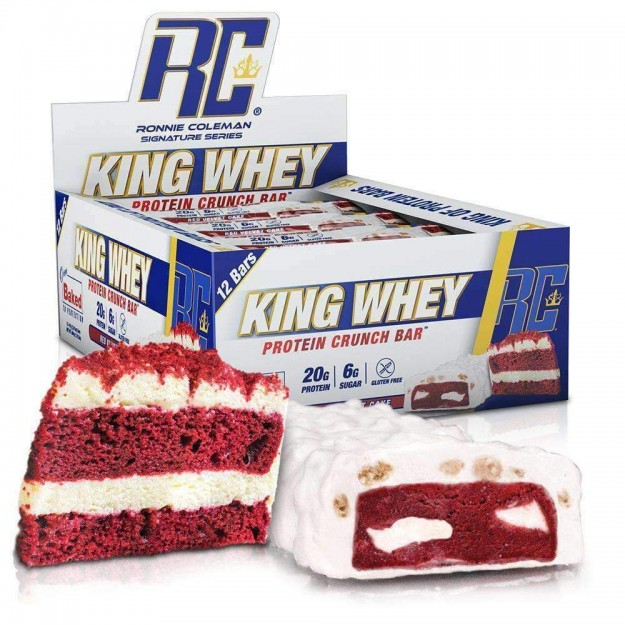 Ronnie Coleman King Whey protein bar 12x 57g 1+1