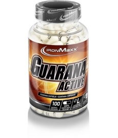 IronMaxx Guarana Active, 100 kaps.
