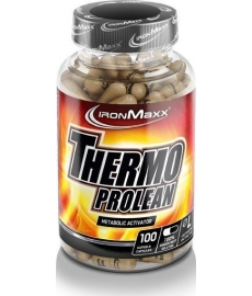 IronMaxx Thermo Prolean, 100 kaps.