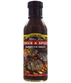 Padažas Walden Farms Thick & Spicy Barbecue, 340 g