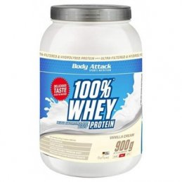 Body Attack 100% Whey Proteinas - 900g