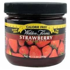 Walden Farms  Strawberry Fruit Spread (340g) Braškių skonio užtepėlė