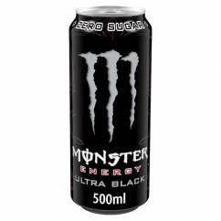 MONSTER Energy Ultra Black (500ml.)