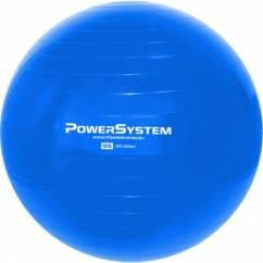 POWER SYSTEM Pro Gym Ball Blue 55 cm. Gimnastikos kamuolys 55 cm.