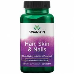 Swanson Hair Skin Nails (60 tabl.)